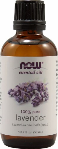 NOW Foods  Essential Oils Lavender Perspective: front