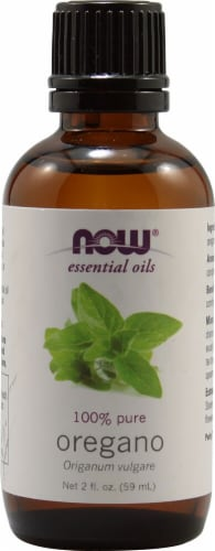 NOW Foods  Essential Oils Oregano Perspective: front