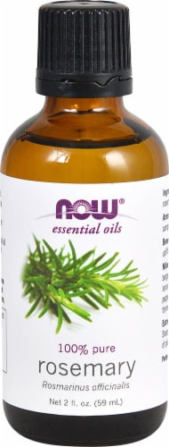 NOW Foods  Essential Oils Rosemary Oil Perspective: front