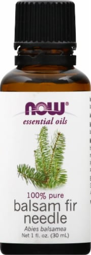 Now Essential Oils Balsam Fir Needle Oil Perspective: front