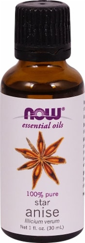 NOW Foods  Essential Oils Star Anise Perspective: front