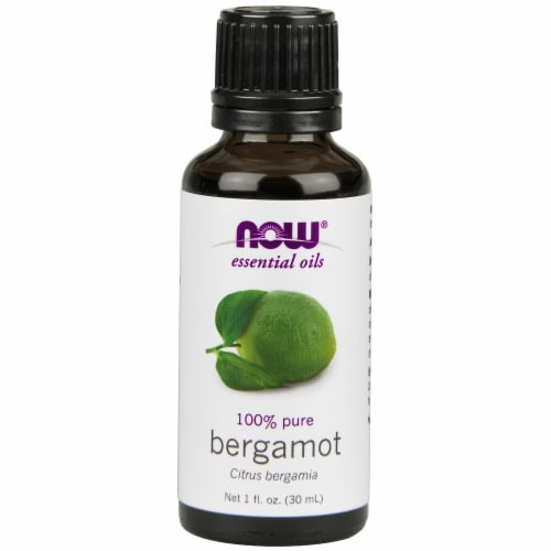 NOW Foods  Essential Oils Bergamot Perspective: front