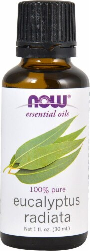 NOW Foods  Essential Oils Eucalyptus Radiata Oil Perspective: front