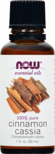 NOW Foods Cinnamon Cassia Essential Oils Perspective: front