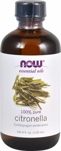 NOW Foods  Essential Oils Citronella Oil Perspective: front