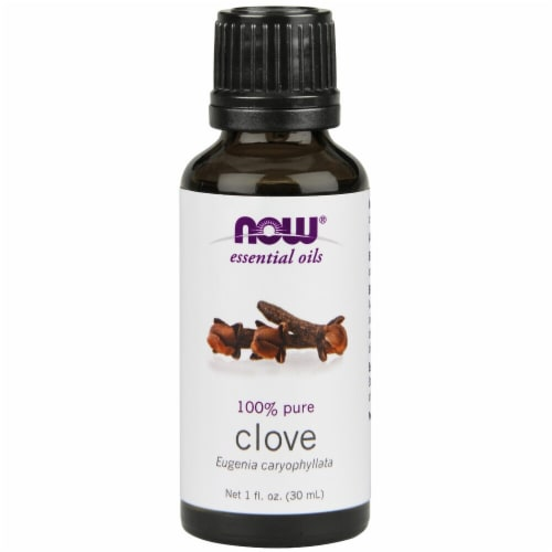 NOW Foods  Essential Oils Clove Perspective: front