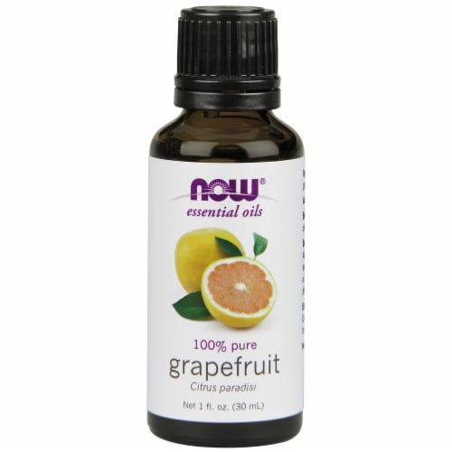 NOW Foods  Essential Oils Grapefruit Perspective: front