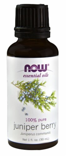 NOW Foods  Essential Oils Juniper Berry Perspective: front