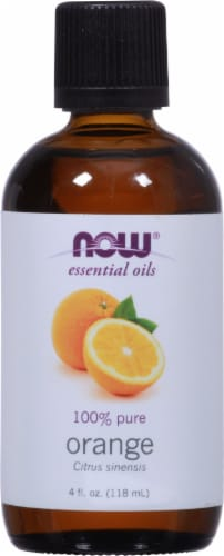 NOW Foods  Essential Oils Orange Perspective: front