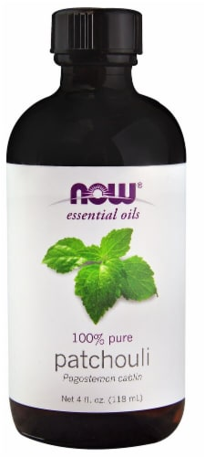 NOW Foods  Essential Oils Patchouli Perspective: front
