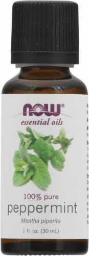 NOW Foods  Essential Oils Peppermint Perspective: front