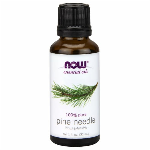 NOW Foods  Essential Oils Pine Needle Perspective: front