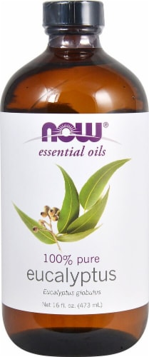 NOW Foods  Essential Oils Eucalyptus Oil Perspective: front