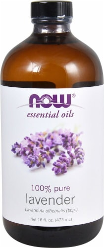 NOW Foods  Essential Oils Lavender Oil Perspective: front
