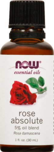 NOW Foods Rose Absolute Essential Oils Perspective: front