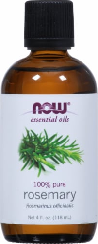 NOW Foods  Essential Oils Rosemary Perspective: front