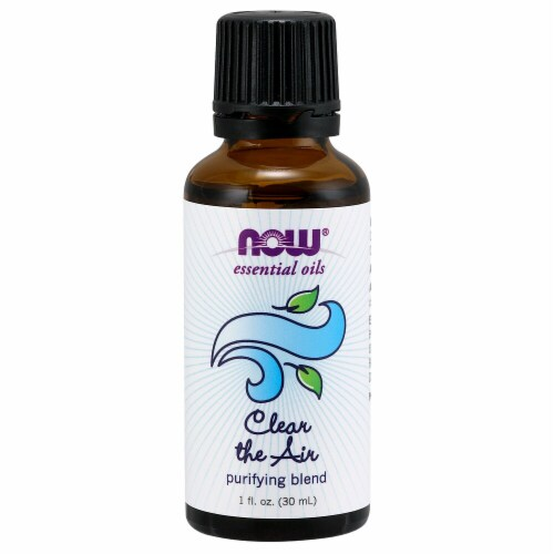 NOW Foods  Essential Oils Clear the Air Perspective: front