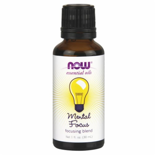 NOW Foods  Essential Oils Mental Focus Perspective: front