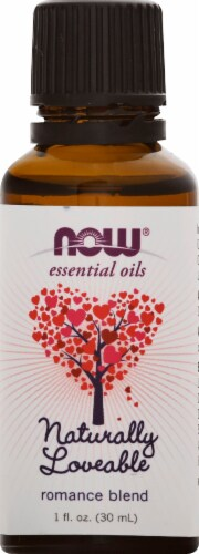 NOW Foods  Essential Oils Naturally Loveable Perspective: front