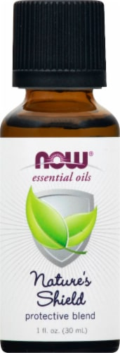 NOW Foods Nature's Shield Protective Blend Essential Oils Perspective: front