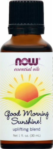 NOW Foods Now® Good Morning Sunshine! Blend Essential Oils Perspective: front