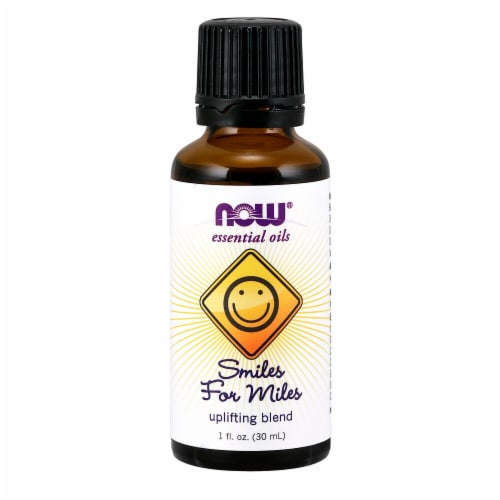 NOW Foods  Now® Essential Oils Smiles For Miles Blend Perspective: front