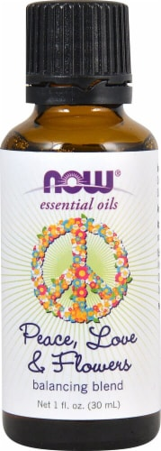 NOW Foods  Essential Oils Peace Love & Flowers Blend Perspective: front