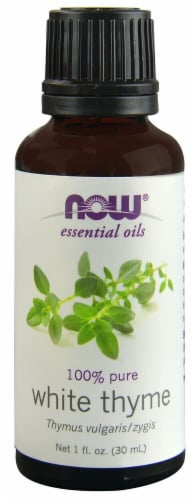 NOW Foods  Essential Oils White Thyme Perspective: front