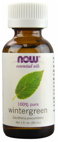 NOW Foods  Essential Oils Wintergreen Perspective: front