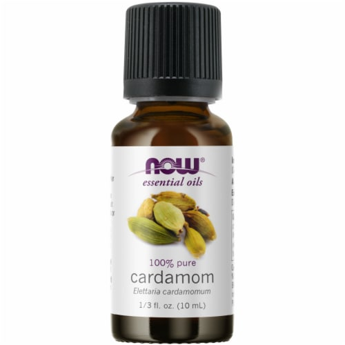 NOW Foods Cardamom Oil Perspective: front