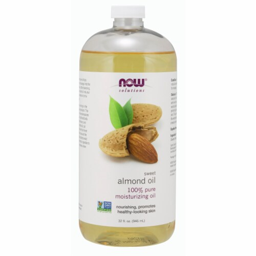 NOW Foods Sweet Almond Oil Perspective: front