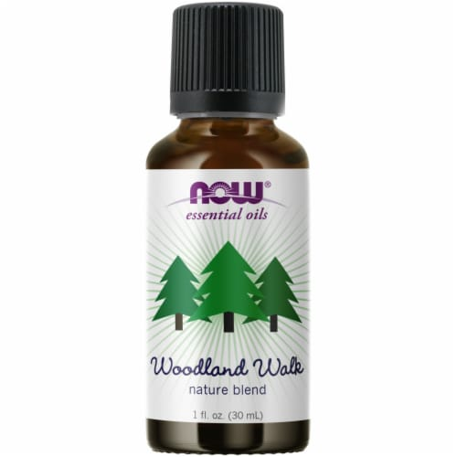 Now Essential Oils Woodland Walk Oil Blend Perspective: front