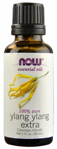 NOW Foods  Essential Oils Ylang Ylang Extra Perspective: front