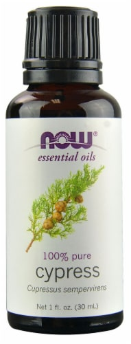 NOW Foods  Essential Oils Cypress Perspective: front