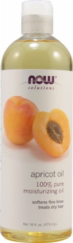 NOW Foods  Solutions Apricot Oil Perspective: front