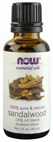 NOW Foods  Essential Oils Sandalwood Blend Perspective: front