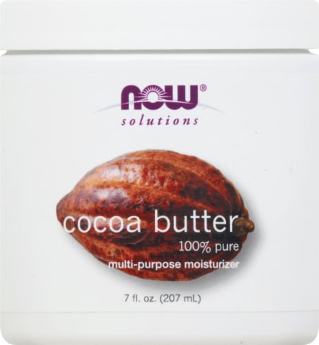 NOW Foods Solutions Cocoa Butter Lotion Perspective: front