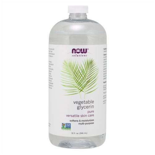 NOW Foods Vegetable Glycerin Perspective: front