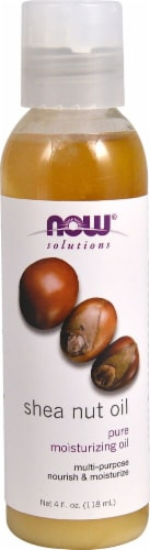 NOW Foods  Solutions Shea Nut Oil Perspective: front
