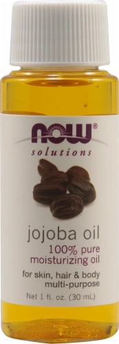 NOW Foods  Solutions Jojoba Oil Perspective: front