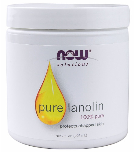 NOW Foods  Solutions Pure Lanolin Perspective: front