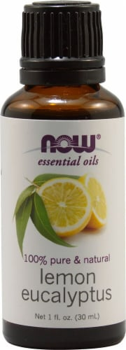 NOW Foods  Essential Oils Lemon Eucalyptus Perspective: front