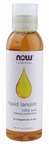 NOW Foods  Solutions Liquid Lanolin Perspective: front
