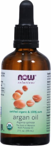 NOW Foods  Solutions Organic Argan Oil Perspective: front