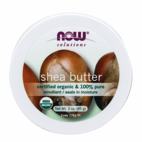 NOW Foods Shea Butter Travel Size Perspective: front