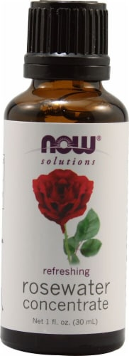 NOW Foods  Solutions Rosewater Concentrate Perspective: front