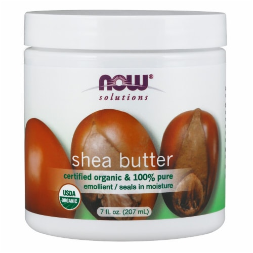 NOW Foods  Solutions Certified Organic Shea Butter Perspective: front