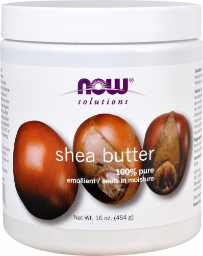 NOW Foods  Solutions Shea Butter Perspective: front