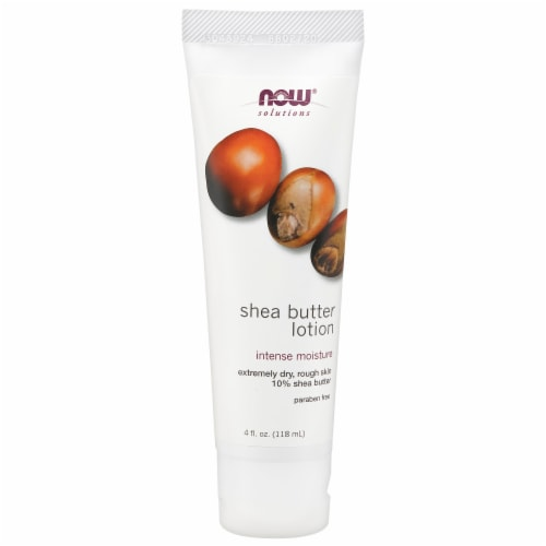 Now Shea Butter Lotion Perspective: front