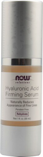 NOW Foods  Solutions Hyaluronic Acid Firming Serum Perspective: front